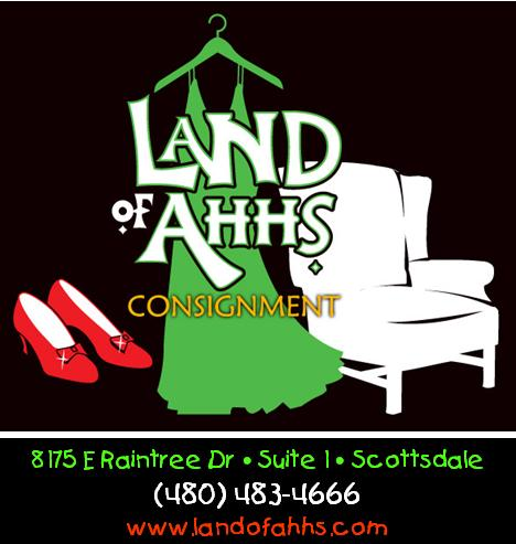 Logo for Land of Ahhs Consignment