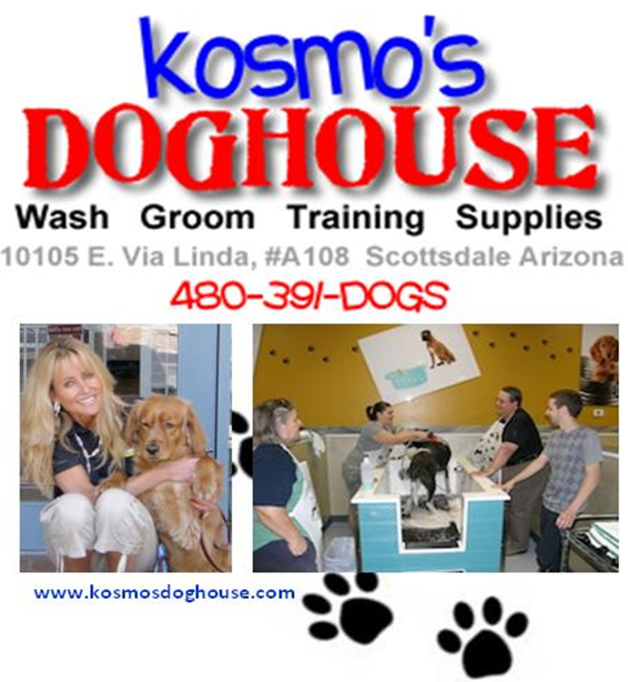 Logo for Kosmo's Dog House