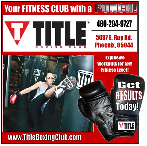 Logo for Title Boxing Club