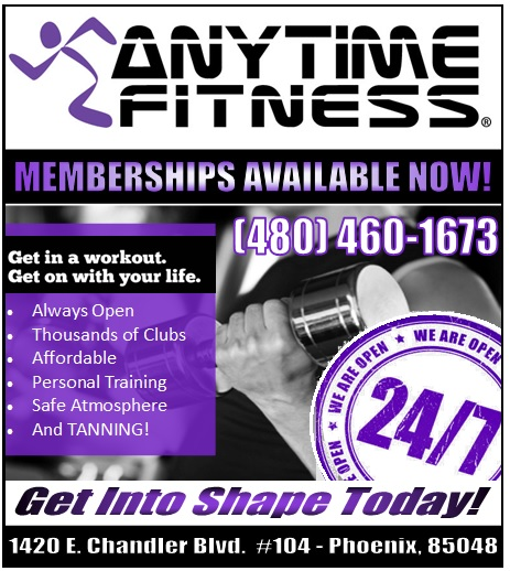 Logo for Anytime Fitness